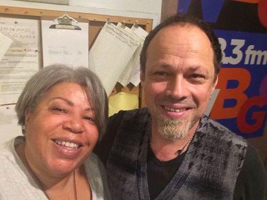 WBGO's Sheila Anderson and Gregor Huebner