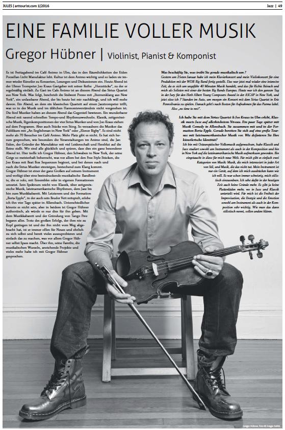 Gregor Hübner ArtTourist.com