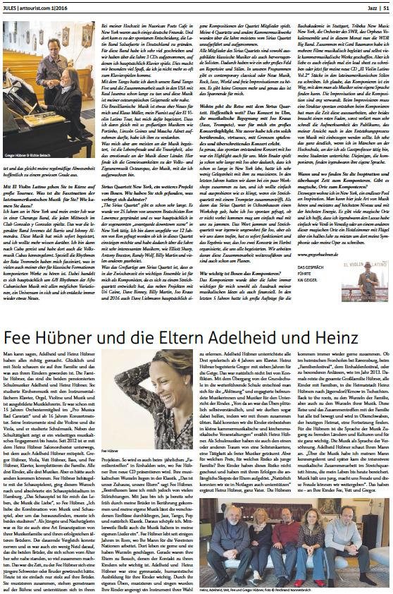 Gregor Hübner ArtTourist.com pg 3