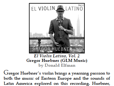 The New York City Jazz Record Reviews El Violin Latino – Vol  2