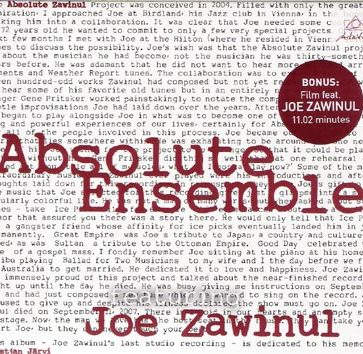 Absolut Ensemble feat Joe Zawinul: Absolut Zawinul