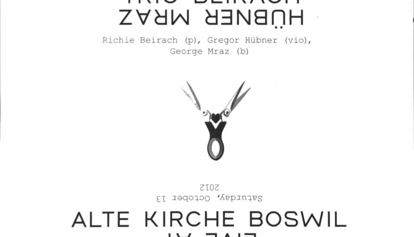 Trio Beirach* Huebner* Mraz* – Live At Alte Kirche Boswil