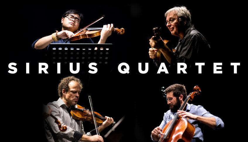 "Sirius Quartet at Princeton Sound Kitchen – Tuesday, April 4 at 8p. Featuring Premiere of Gregor Huebner's new String Quartet #6 ""New World Nov. 9 2016"""
