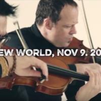 Gregor Huebner's New World Nov. 9. 2016 played by Sirius Quartet