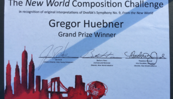 New York Philharmonic's New World Composition Challenge