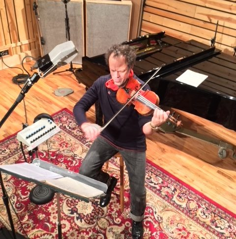 Final Stage of Third El Violin Latino Album