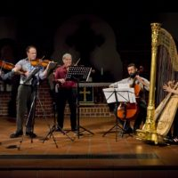 Sirius Quartet and Harpist Evelyn Huber