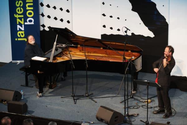 "Richie Beirach & Gregor Huebner Perform ""Sunday Song"" at Jazzfest Bonn 2018"