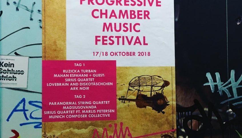 Highlights from Progressive Chamber Music Festival Munich 2018