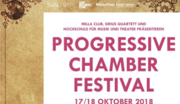 2018 Progressive Chamber Music Festival Munich