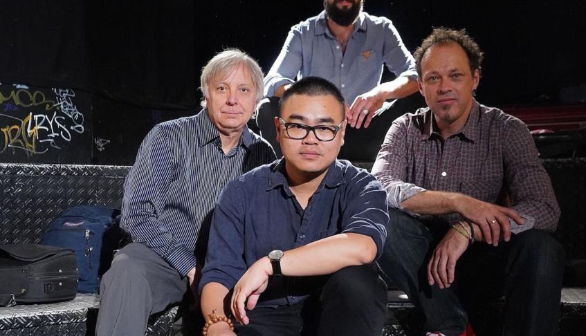 Sirius Quartet Record Live Album at Bauer Studios
