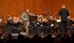 Gregor Huebner and Bosch Big Band and Bosch String Orchestra Perform Vivaldi's Four Season