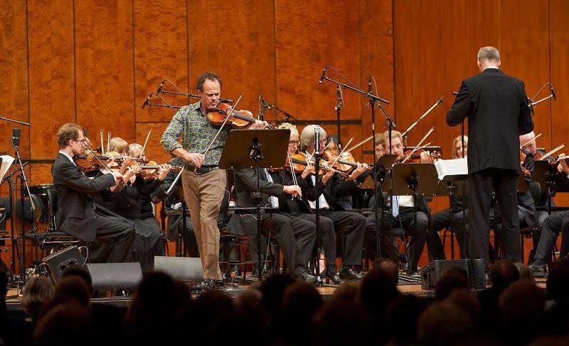 Gregor Huebner and Bosch Big Band and Bosch String Orchestra Perform Vivaldi's Four Season