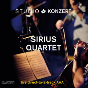 Sirius Quartet – Studio Konzert – Vinyl LP