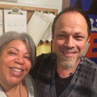 Gregor Huebner and WBGO's Sheila Anderson