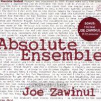 Absolut Ensemble feat Joe Zawinul- Absolut Zawinul
