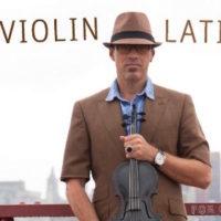 El violin Latino album cover for you tube